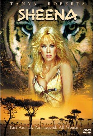 sheena starring tanya roberts DVD 1984 columbia sony full screen 117 minutes used mint