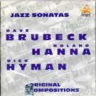 dave brubeck / dick hyman / roland hanna - jazz sonatas CD 1994 angel used mint