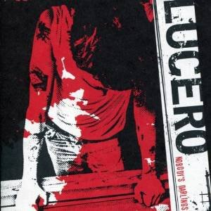 lucero - nobody's darlings CD 2005 liberty & lament 12 tracks used mint