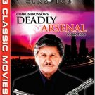 charles bronson's deadly arsenal collection DVD 2005 vintage 262 minutes used mint