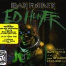 iron maiden - ed hunter 2CDs + game CD-rom 1999 sony used mint