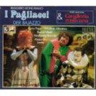i pagliacci + cavalleria rusticana - gardelli CD3-discs 1984 eurodisc used