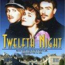 twelfth night - helena bonham carter + richard e grant DVD 2005 image new