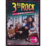 3rd rock from the sun season 6 DVD 4-disc set 2006 anchor bay new