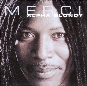 alpha blondy - merci CD 2002 shanachie 12 tracks used mint