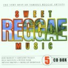 sweet reggae music - various artists CD 5-disc set 2001 disky 90 tracks new