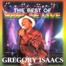 gregory isaacs - reggae live best of gregory isaacs CD 2001 innerbeat 15 tracks used mint
