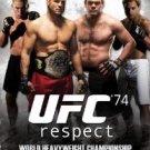 UFC 74 respect DVD 2008 zuffa used mint