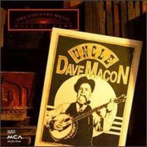 uncle dave macon - country music hall of fame series CD 1992 MCA 16 tracks used mint