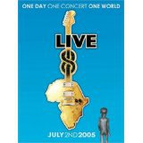 live 8 - various artists DVD 4-disc set 2005 capitol EMI 10 hours used