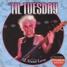'til tuesday - all about love CD 2004 collectables sony 10 tracks used mint