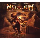 metalium - grounded chpter eight CD 2009 armageddon soundholic japan 11 tracks used mint