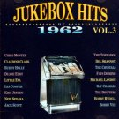 jukebox hits of 1962 vol.3 - various artists CD 1992 double d entertainment 29 tracks used mint