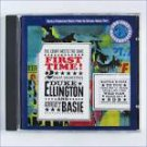 duke ellington and count basie - first time! count meets duke CD columbia 8 tracks used mint