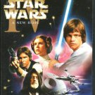 star wars IV - a new hope DVD full screen NTSC used near mint
