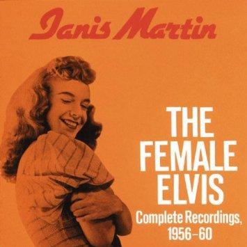 janis martin - female elvis CD 1987 bear family germany 30 tracks used mint