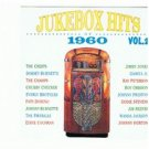 jukebox hits of 1960 vol.2 - various artists CD 1991 double d 30 tracks used mint