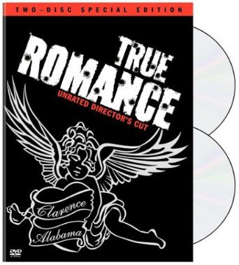 true romance - unrated director's cut DVD 2-discs 2005 warner used mint