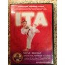 ITA international taekwondo alliance - purple / red belt DVD 2003 ITA used mint