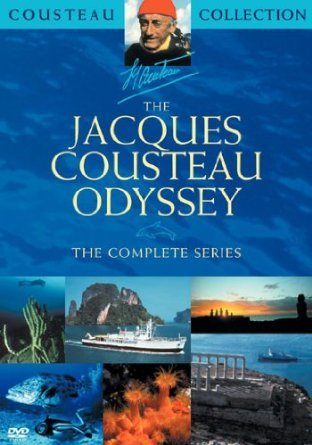 jacques cousteau odyssey - complete series DVD 6-disc boxset new