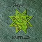 savage - babylon CD 1996 neat metal pony canyon japan 11 tracks used