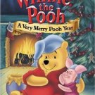winnie the pooh a very merry pooh year DVD disney 65 minutes used mint