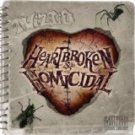 twiztid - heartbroken & homicidal CD 2010 psychopathic 15 tracks used mint