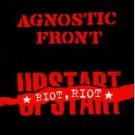 agnostic front - riot riot upstart CD 1999 epitaph raybeez 17 tracks used mint