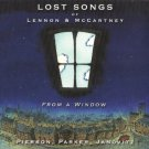 lost songs of lennon & mccartney from a window - pierson parker janovitz CD 2003 gallery six