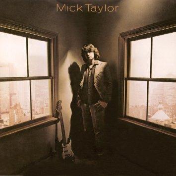 micj taylor - mick taylor CD 1979 sony 8 tracks used mint