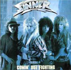 sinner - comin' out fighting CD 1999 2001 victor japan 20 tracks used mint
