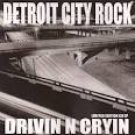 drivin n crying - detroit city rock CD limited edition EP 2003 4 tracks used mint