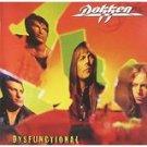 dokken - dysfunctional CD 1995 sony 11 tracks used mint