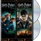 harry potter and the deathly hallows parts 1 and 2 DVD 2-discs 2012 warner used mint
