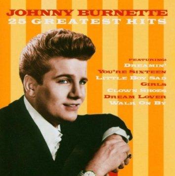 johnny burnette - 25 greatest hits CD 1998 EMI gold used mint