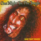 """david """"rock"""" feinstein - one night in the jungle CD 2000 hollywood island used mint"""