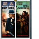 deadly trackser + man in the wilderness DVD double feature 2008 warner used