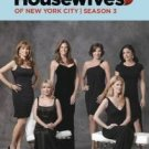 real housewives of new york city season 3 DVD 5-discs 2011 bravo used mint