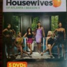 real housewives of atlanta season 3 DVD 5-discs 2011 bravo used mint