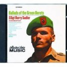 ssgt barry sadler - ballads of the green berets CD 1997 collector's choice 13 tracks used mint