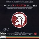 trojan x-rated boxset limited edition CD 3-discs 2002 sanctuary used