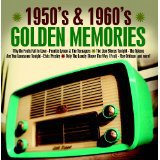 1950's & 1960's golden memories - various artists CD 2012 play 24-7 15 tracks used mint
