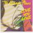 rolling stones - love you live CD 2-discs 1977 promotone CBS 18 tracks used mint