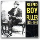 blind boy fuller - 1935 -1940 CD 1990 travelin' man 20 tracks used mint