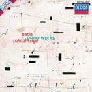 satie - piano works - pascal roge CD 1989 london decca polygram 17 tracks used mint