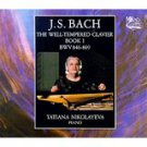 bach well-tempered clavier book 1 BWV 846-869 - tatiana nikolayeva 2CDs 1991 Mezhdunarodnaya Knig