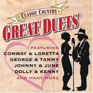 classic country great duets - various artists CD 2-discs 2004 sony time life 30 tracks used mint
