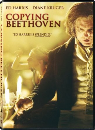 copying beethoven - ed harris + diane kruger DVD 2007 MGM 104 minutes used mint