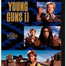young guns II - emilio estevez + kiefer sutherland DVD 1999 warner snapcase used
