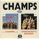 champs - go champs go + everybody's rocking' CD 1993 ace 24 tracks used mint
